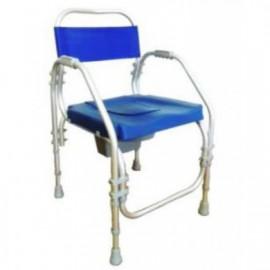 Cadeira de alumínio Pacific de banho e santária (Reg. em altura)