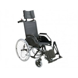 Cadeira de Rodas Manual em Aço CELTA CAMA