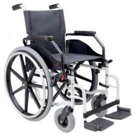 Cadeira de Rodas Manual em Aço IBERA- 39-Ny 600 Pn-Pn 200