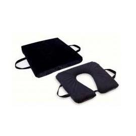 Almofada Anti-escara em Gel (Sigel®) Quadrada ou Ferradura 41x41x3.5 cm recomendada para utilizadores até 80 Kg