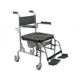 Cadeira de inox Arctic (Com 4 rodízios)