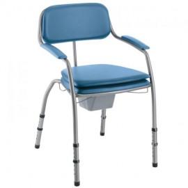 Cadeira Sanitária Invacare Omega Regulável Lavanda