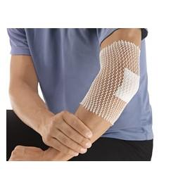 Stülpa®-fix- Ligadura tubular de rede com alta elasticidade e elevado conteúdo de algodão
