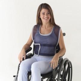 Colete de posicionamento à cadeira de rodas