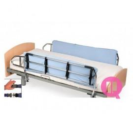 Proteção acolchoada para grades hospitalares