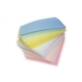 Esponjas brancas para higiene geriátrica