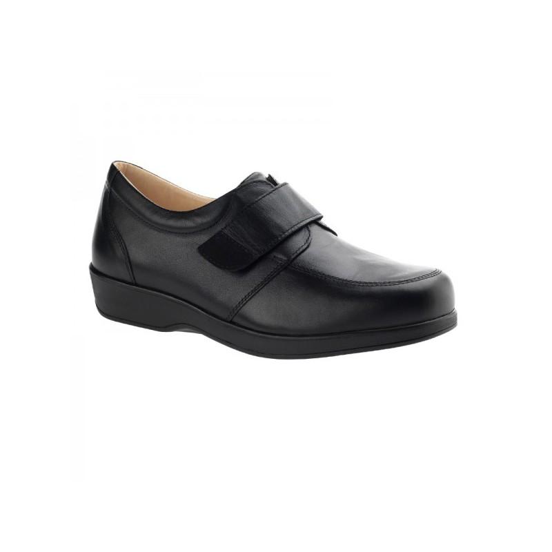 Sapato diabetic technique senhora Preto WALK D2611 Orto Pueri