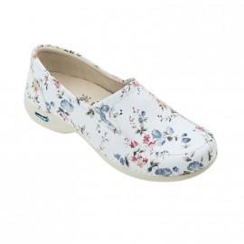 Sapato com elásticos Roma Flores (WG10F1) 35-42