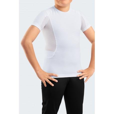T-shirt Corretora de Postura para Adolescentes e Crianças
