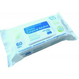 Toalhetes humedecidos com loção 30x20 cm (60 Unid)
