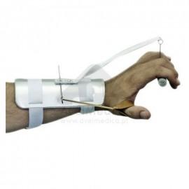 Tala para paralisia do radial com extensor do polegar