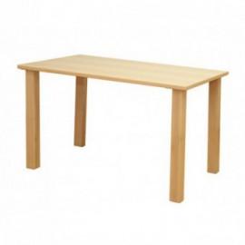 Mesa de apoio rectangular
