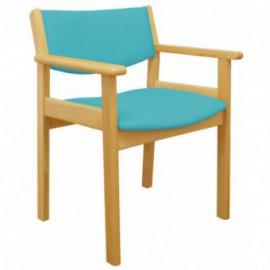 Cadeira simples com braços