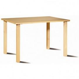 Mesa de refeições rectangular